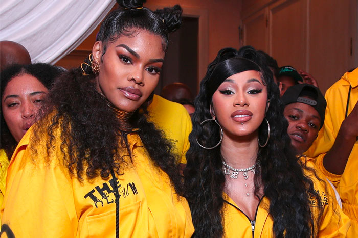 Cardi B Shares Support for Teyana Taylor, Says She Had the Best Album of 2020